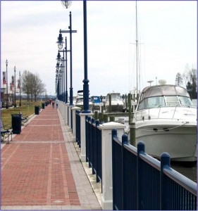 Washington, NC Waterfront Promenade and Marina