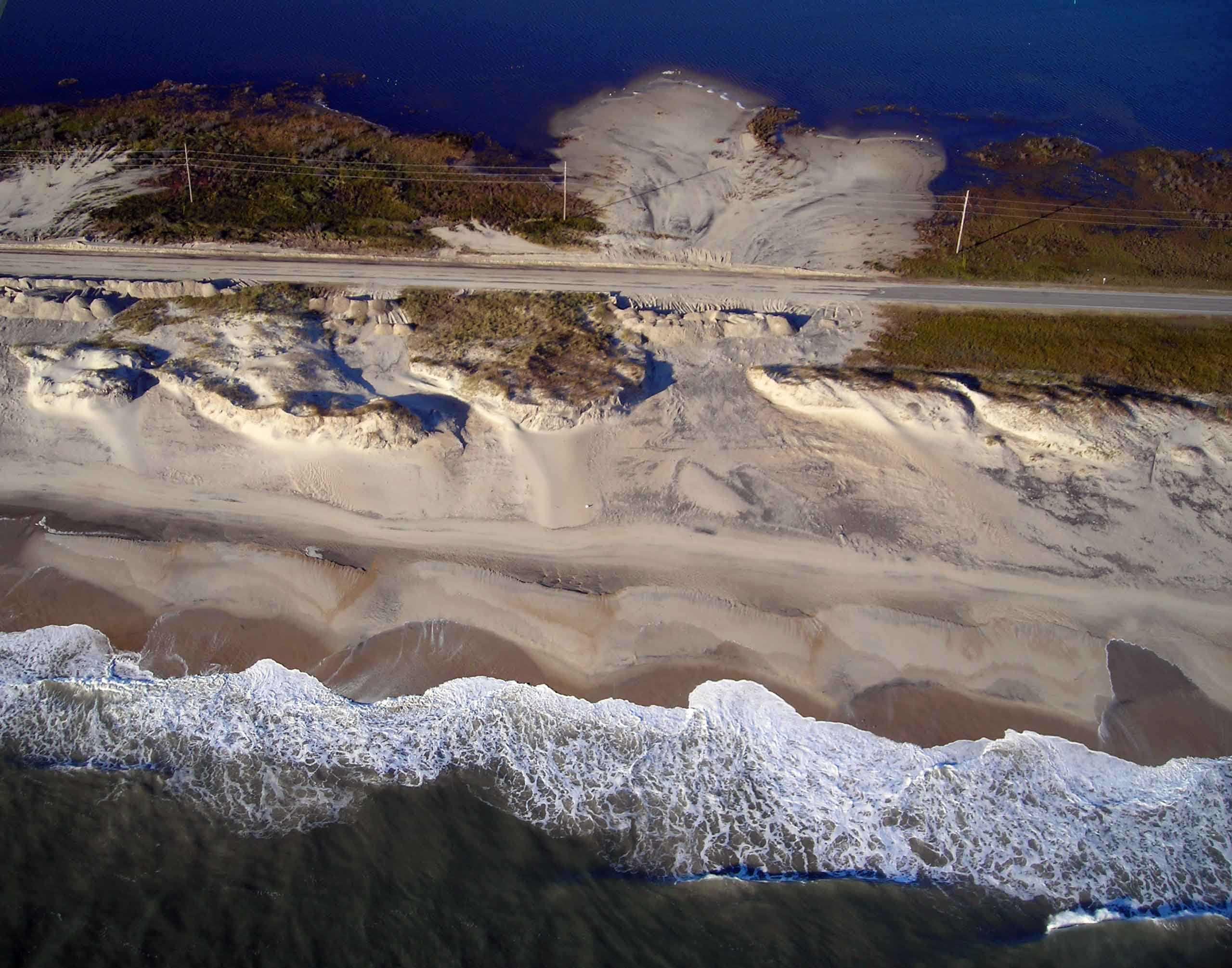 Pea Island Following Hurricane Sandy