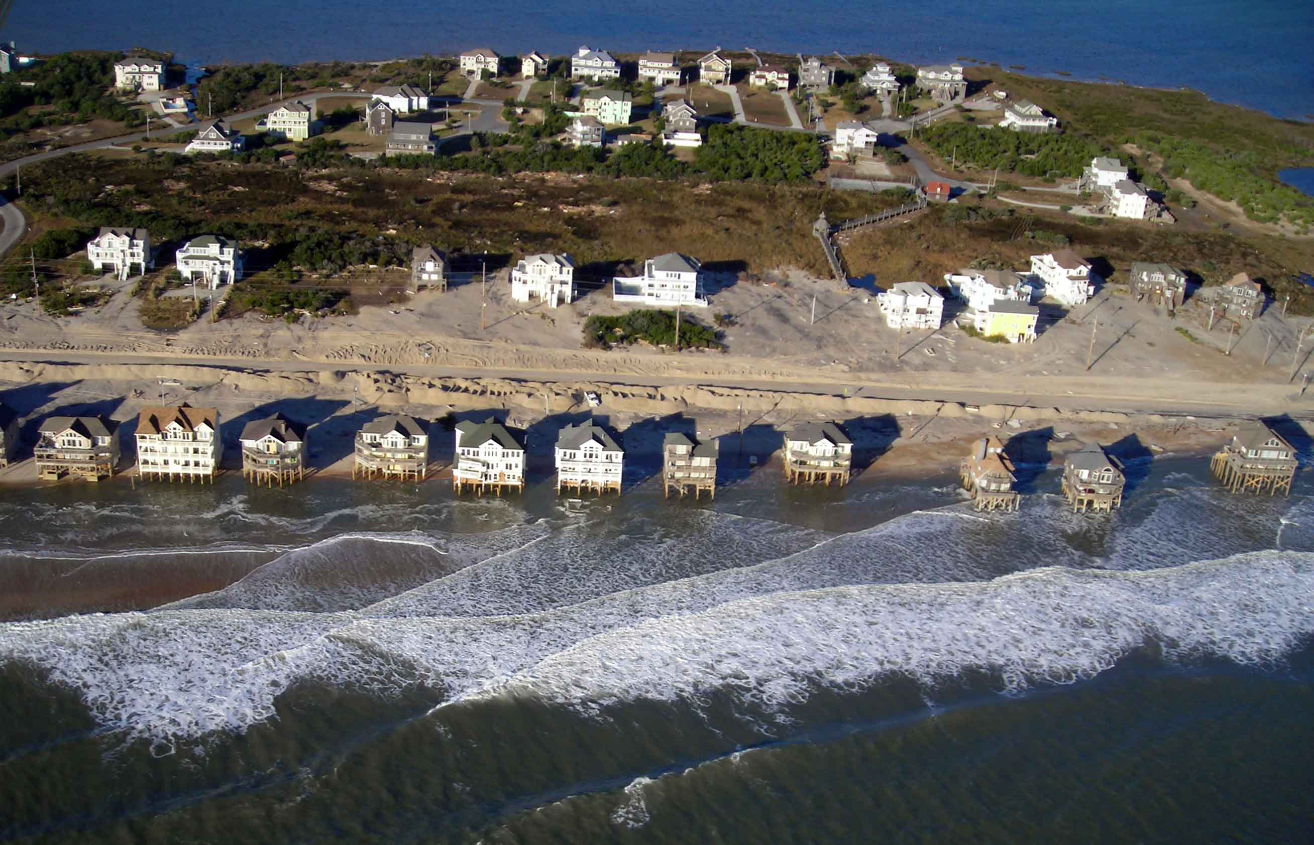 Rodanthe following Hurricane Sandy on 3 November 2012.