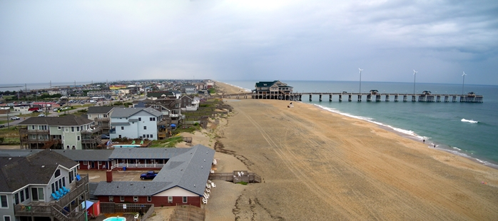 A view of Jennette's Pier on June 12, 2012.