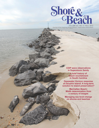 Recent publication discusses the impact of beach nourishment along South Carolina beaches.