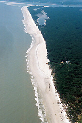 Hunting Island after nourishment, Jun 2006