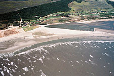 Kiawah Island after inlet relocation, Jul 2006