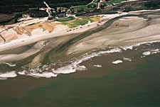 Kiawah Island before inlet relocation, Jun 2006