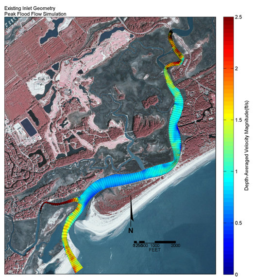Numerical Modeling of Inlet Relocation Impacts
