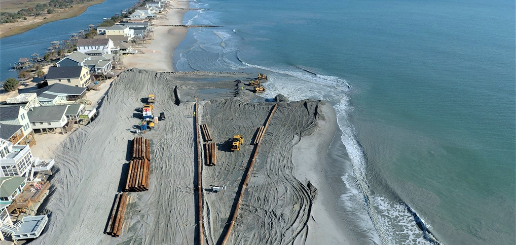 CSE Completes its 50th Beach Restoration Project
